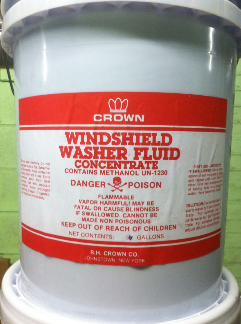 UN1230,METHANOL,3, PGII, WINDSHIELD WASHER CONCENTRATE