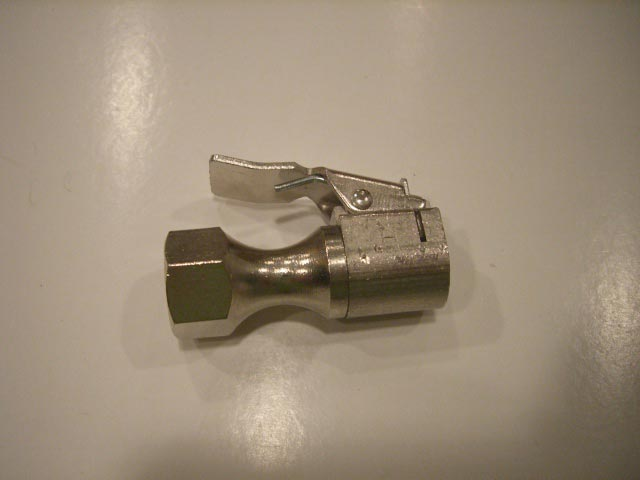 "RTI AIR CHUCK-023 80390 00 CLIP ON VALVE, 1/4"" FPT"