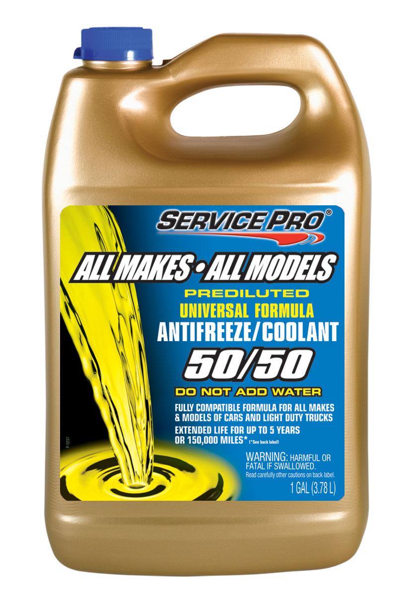 Antifreeze Service Pro 50 Universal 6x1gal Rh Crown Prestone Engine Coolant