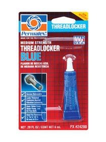 PERMATEX-#24200 BLUE THREADLOCKER 6ML