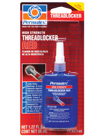 PERMATEX-#27140 RED THREADLOCKER 36ML